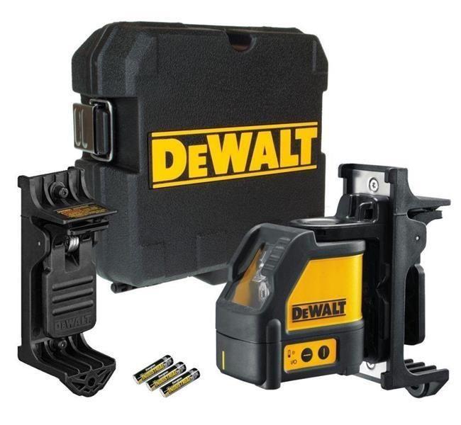 DeWALT DW088K-XJ önbeálló kereszt vonallézer