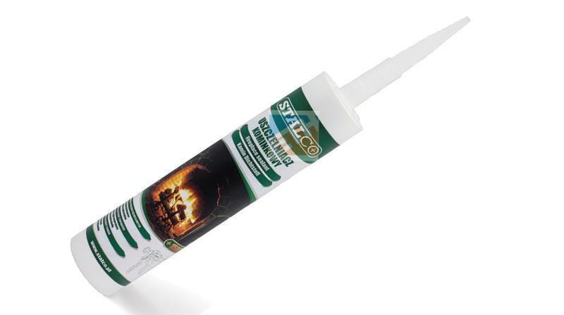 Kandalló tömítőanyag 300 ml; fekete STALCO