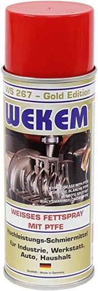 PTFE Zsír spray (fehér) 400ml WEKEM