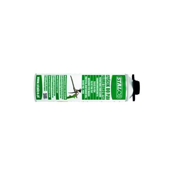 Poliuretán, (pur)hab tisztító, eltávolító, 500 ml, STALCO