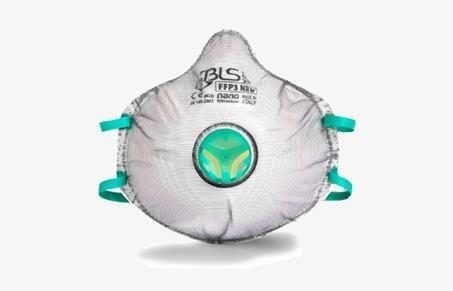 BLS ZER0 31 FFP3 R D többször használható részecskeszűrős maszk