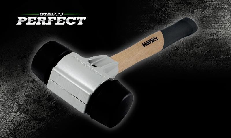 Kalapács (térkő) Ø30 mm / 90 / gumi PERFECT