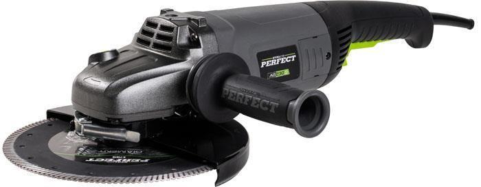 Sarokcsiszoló 230mm, 3000W, AG125Q, STALCO PERFECT