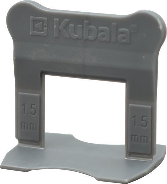 SMART LEVEL fugázó klipsz, 1,5 mm, 100 db/csom, KUBALA